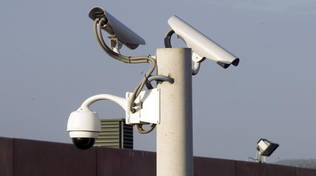 Cámara de vigilancia.