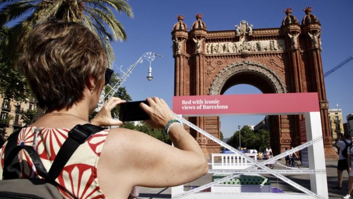 """Campaña """"Fair Tourism BCN"""" del Ayuntamiento de Barcelona."""