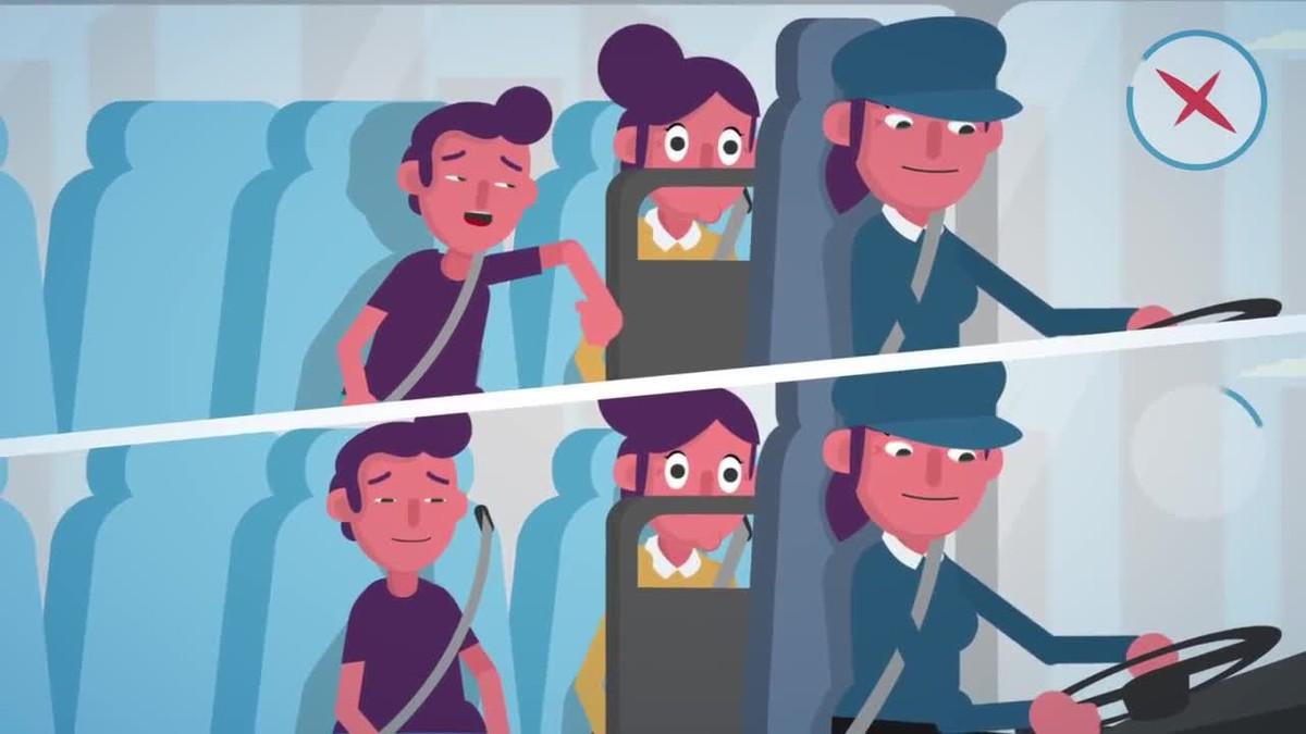 Campaña de Trànsit Passatgers segurs, a lautocar també.