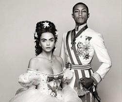 Cara Devingne y Pharrell Williams protagonizan el 'fashion film' de Chanel.