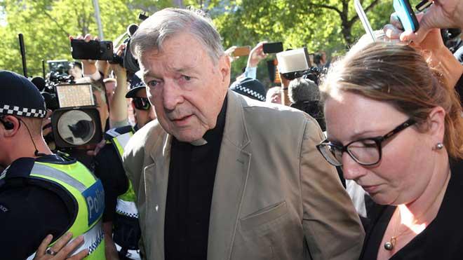 El cardenal Pell apela por irregularidades su culpabilidad en el caso de pederastia.