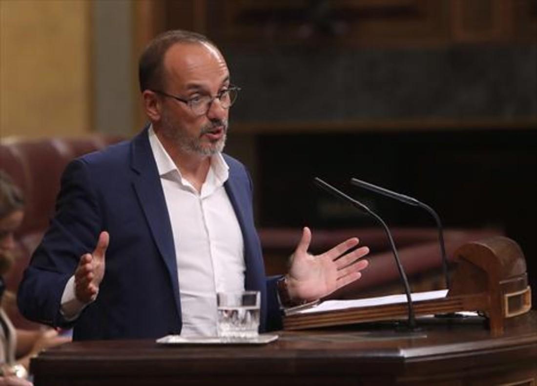 Carles Campuzano, portavoz del PDECat.