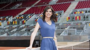 La periodista de La Sexta Deportes Carlota Reig.