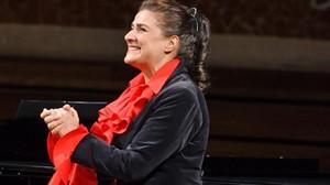 Cecilia Bartoli, en el Palau de la Música.