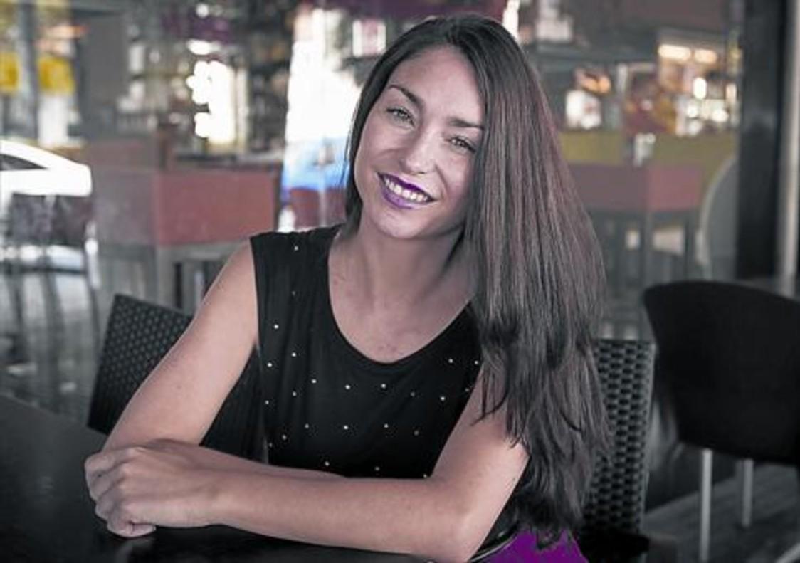 Celia Flores, en Málaga, durante la entrevista con EL PERIÓDICO DE CATALUNYA.