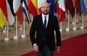 Charles Michel, en Bruselas.