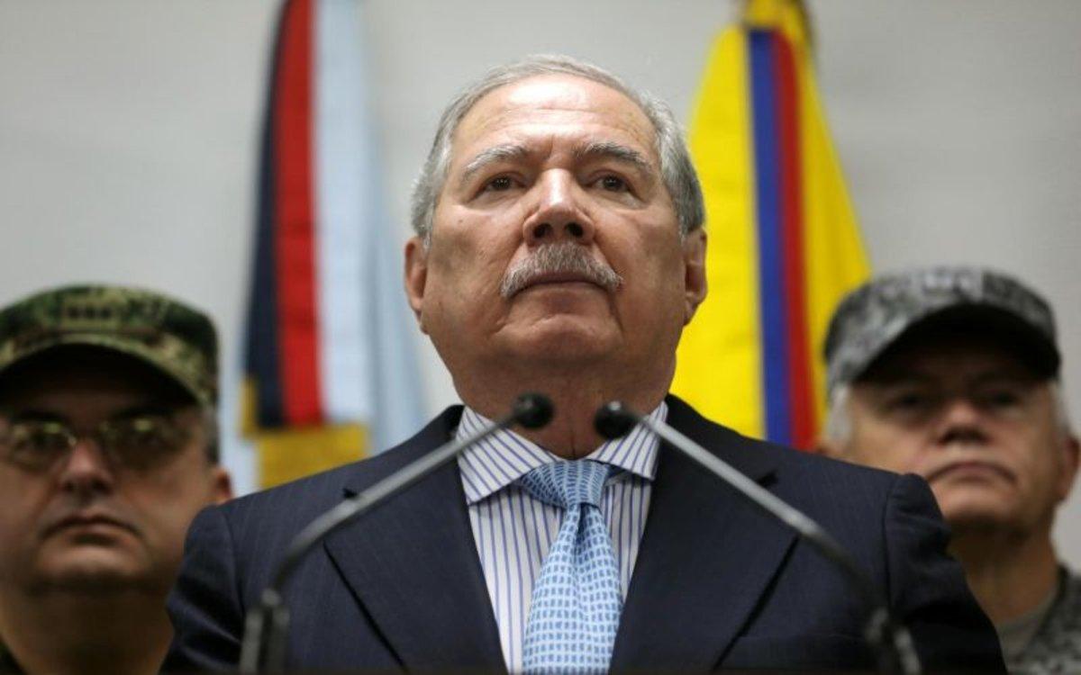 Guillermo Botero, el exministro de Defensa de Colombia.
