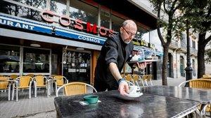 Cosmos, uno de los locales míticos de Barcelona en los que grabaron 'Hache'.