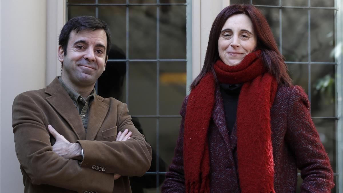 David Lozano y Beatriz Osés, ganadores de los premios Edebé.