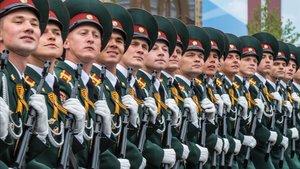 Desfile de la Victoria celebrado el 9 de mayo del 2019 en la plaza Roja de Moscú.