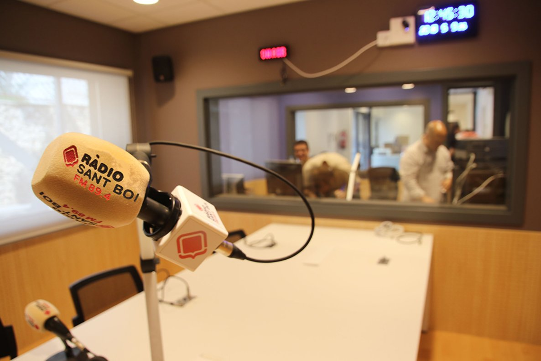 La emisora local Ràdio Sant Boi inauguró la temporada el lunes