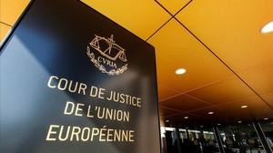 Entrada del Tribunal de Jusiticia de la UE