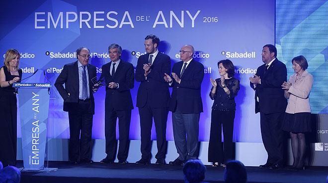 Entrega de los Premios Empresa del Año 2016.