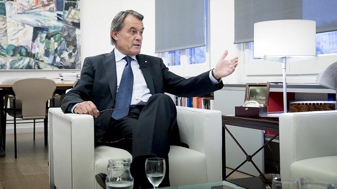 Entrevista amb Artur Mas, expresidentde la Generalitat