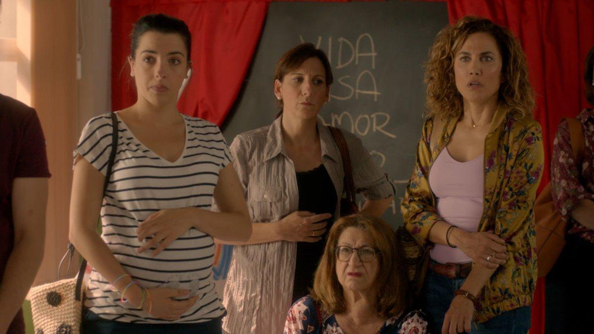 Escena del segundo capítulo de 'Señoras del (h)AMPA'.
