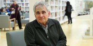 El escritor Bernardo Atxaga, este lunes en el festival Literaktum en San Sebastián