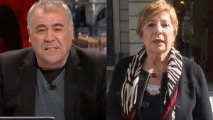 Antonio García Ferreras y Celia Villalobos.