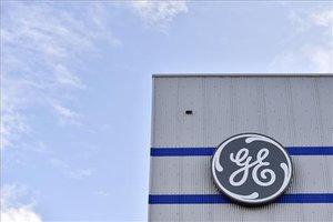 El logo de General Electric.