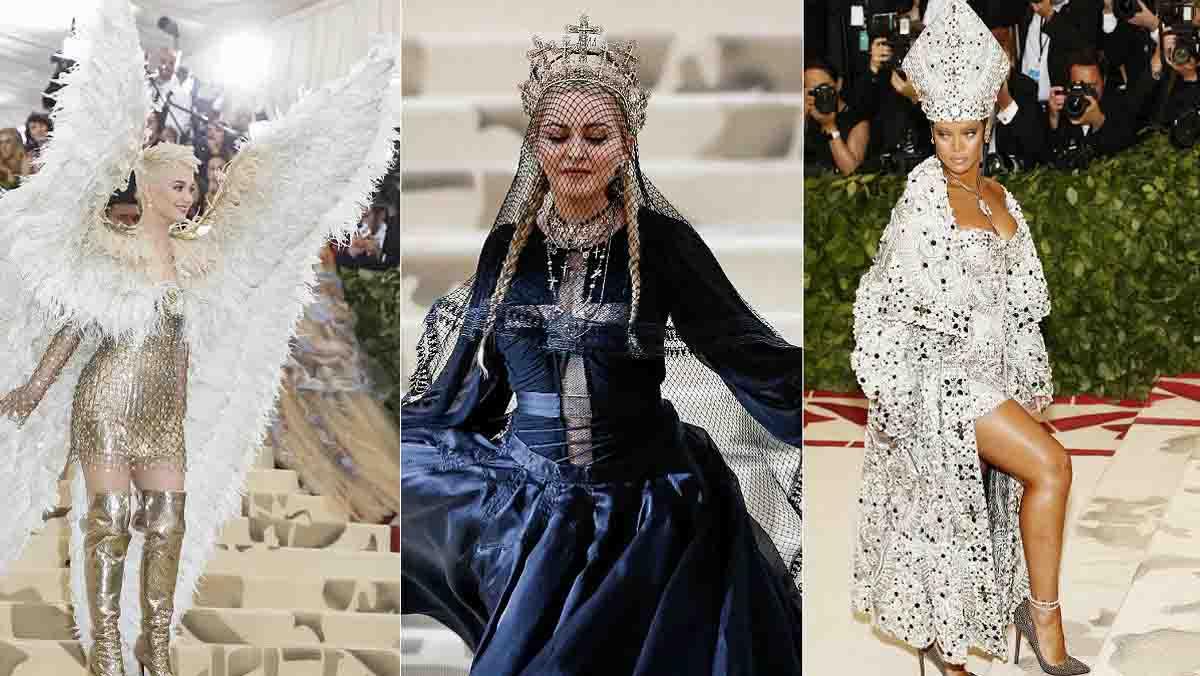 La gala del Museo Metropolitano (MET) de Nueva York, casi sinónimo de osadía en la moda, se atrevió hoy con la religión como tema central de su 70 aniversario.