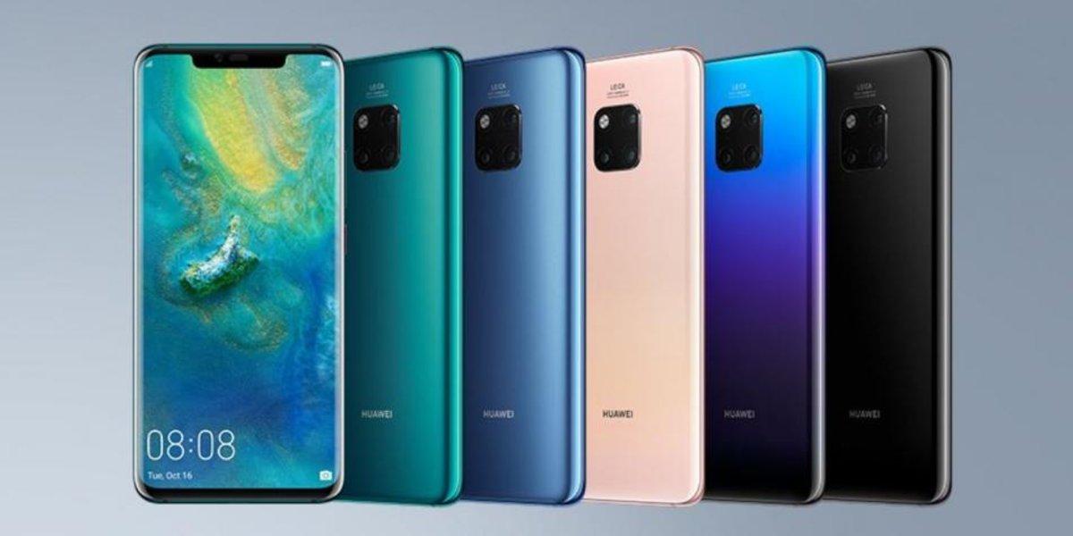 1808eb551f63c Así es la nueva serie Mate 20 de Huawei