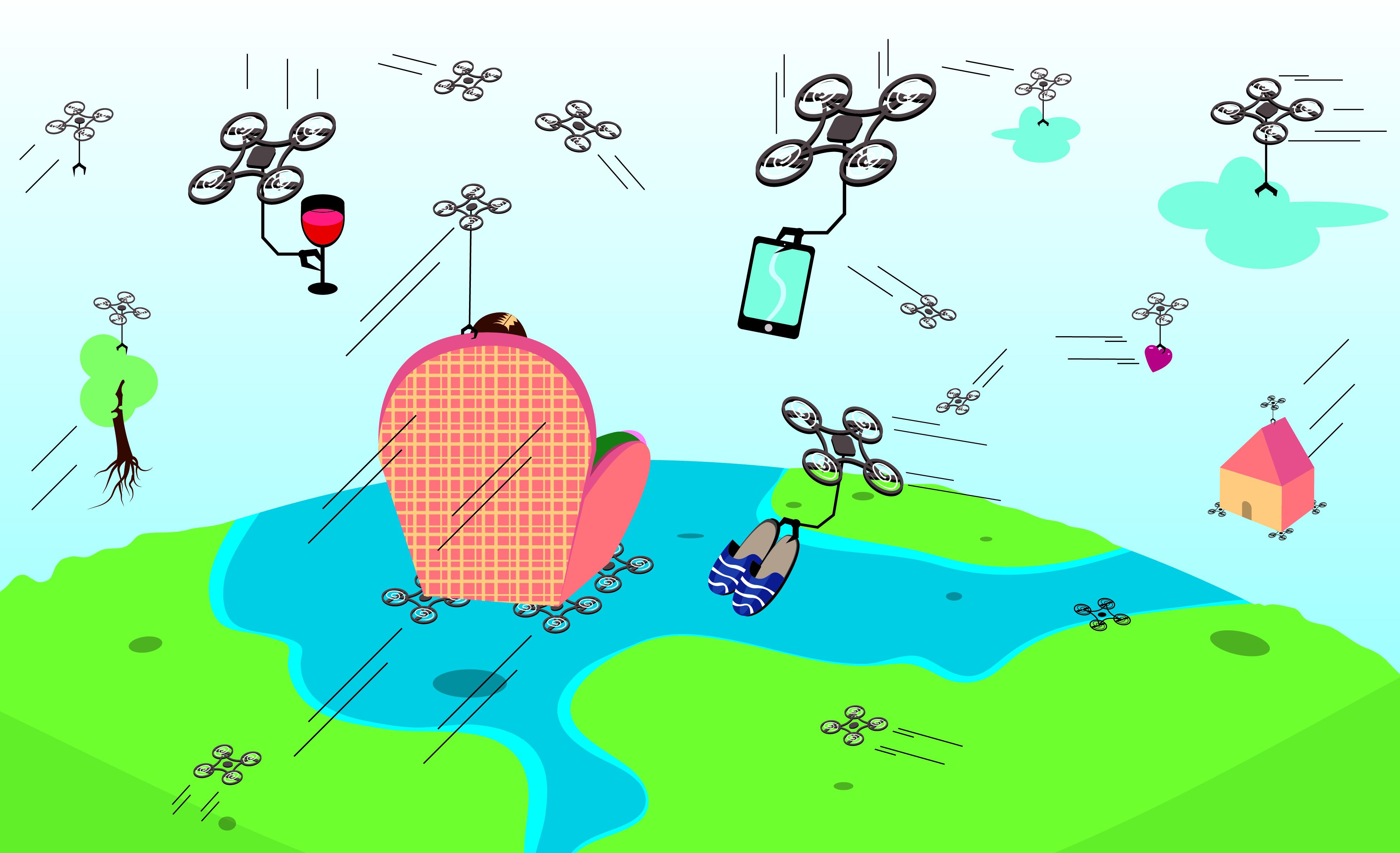 Drones para casi todo