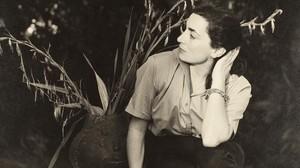 Jacqueline Roque en La Californie, el 20 de enero de 1958.