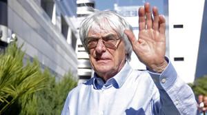 El jefe de la F-1, Bernie Ecclestone, en una imagen reciente.