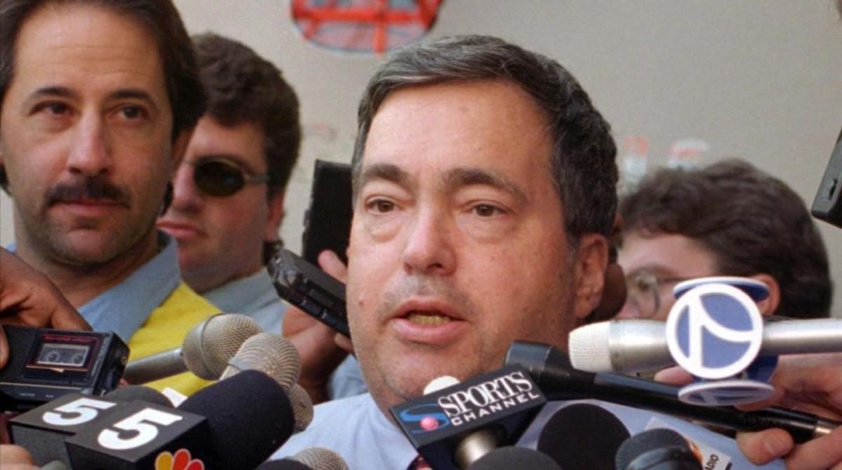Jerry Krause, ex director general de los Chicago Bulls.
