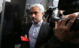 Jose Mourinho entra a declarar a los juzgados de Pozuelo por fraude a Hacienda el pasado mes de noviembre.