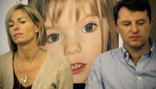 Kate y Gerry McCann, los padres de Madeleine, en una visita a Madrid, en el 2011.