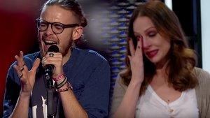 'La voz': Eva González se emociona durante la actuación de un joven que sufrió bullying