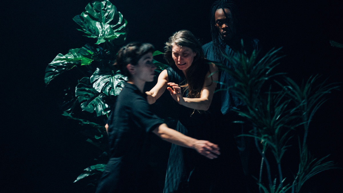 Una escena de IUanMI, segunda parte de la trilogía dela coreógrafa Lali Ayguadé sobre la transformación.