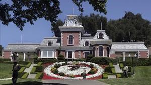 El rancho de Michael Jackson, en la localidad de Los Olivos (California).