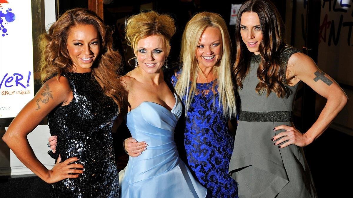 Las Spice Girls, en una imagen del 2012.