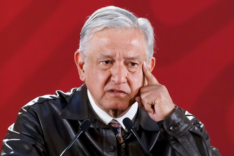 El presidente de México, Andrés Manuel López Obrador, en rueda de prensa.