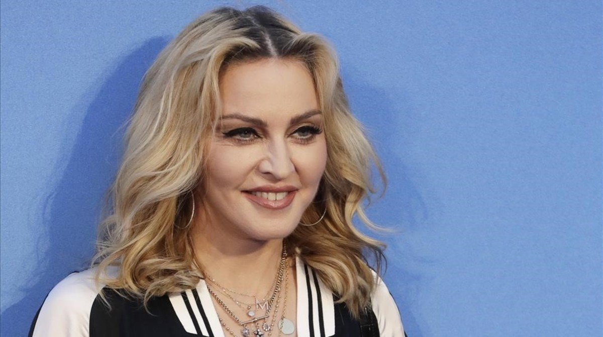 Foto de archivo de Madonna.