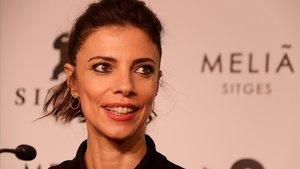 Maribel Verdú, tras la presentación de 'El asesino de los caprichos' en Sitges