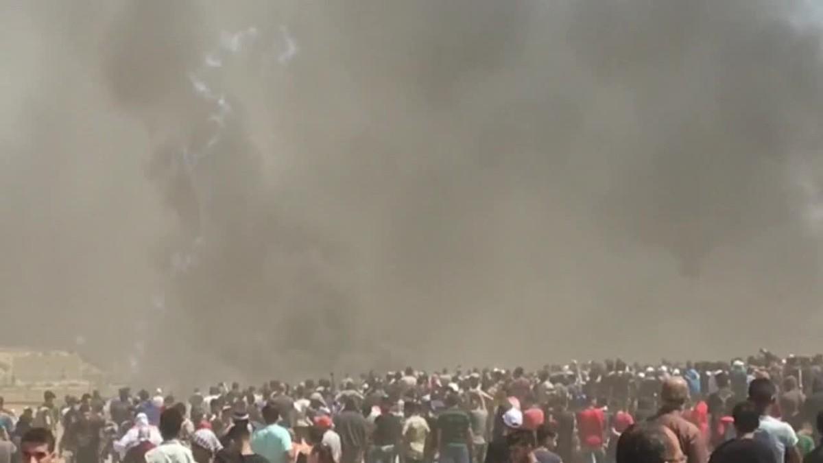 Ya son 41 muertos y 1.960 los heridos en las protestas en la frontera de Gaza