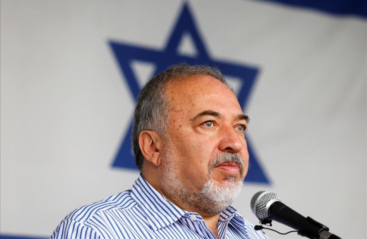 El ministro de Defensa israelí, Avigdor Lieberman.