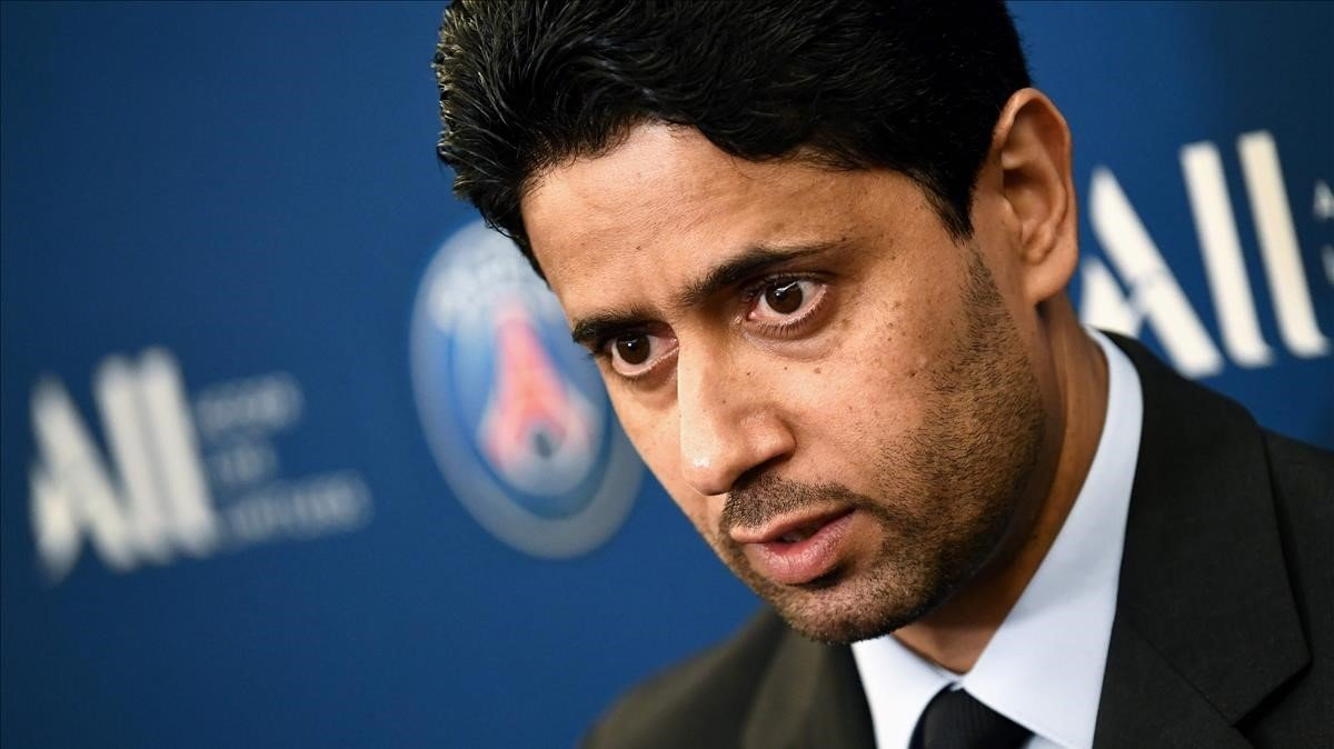 Nasser Al Khelaifi, dueño del PSG, acusado por corrupción.