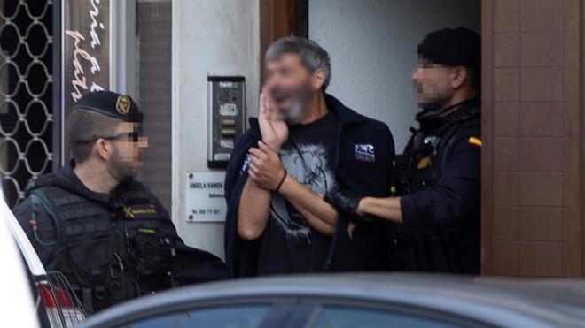 Nueve independentistas de los CDR detenidos en una operación de la Guardia Civil en Catalunya.