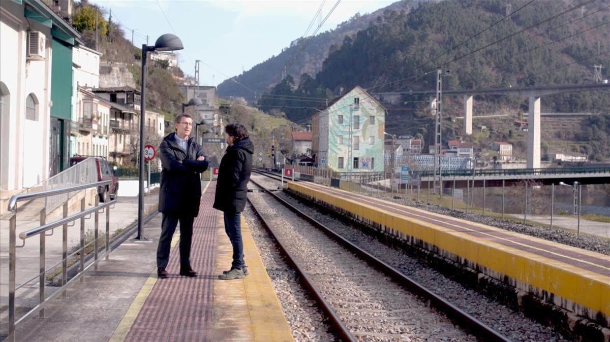 Évole, Núñez Feijóo i 'Fariña'