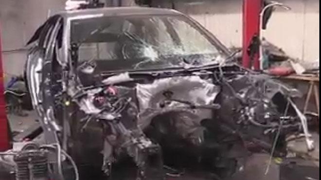 Operación de los Mossos en la que han desarticulado una banda que robaba motos y coches en Barcelona.