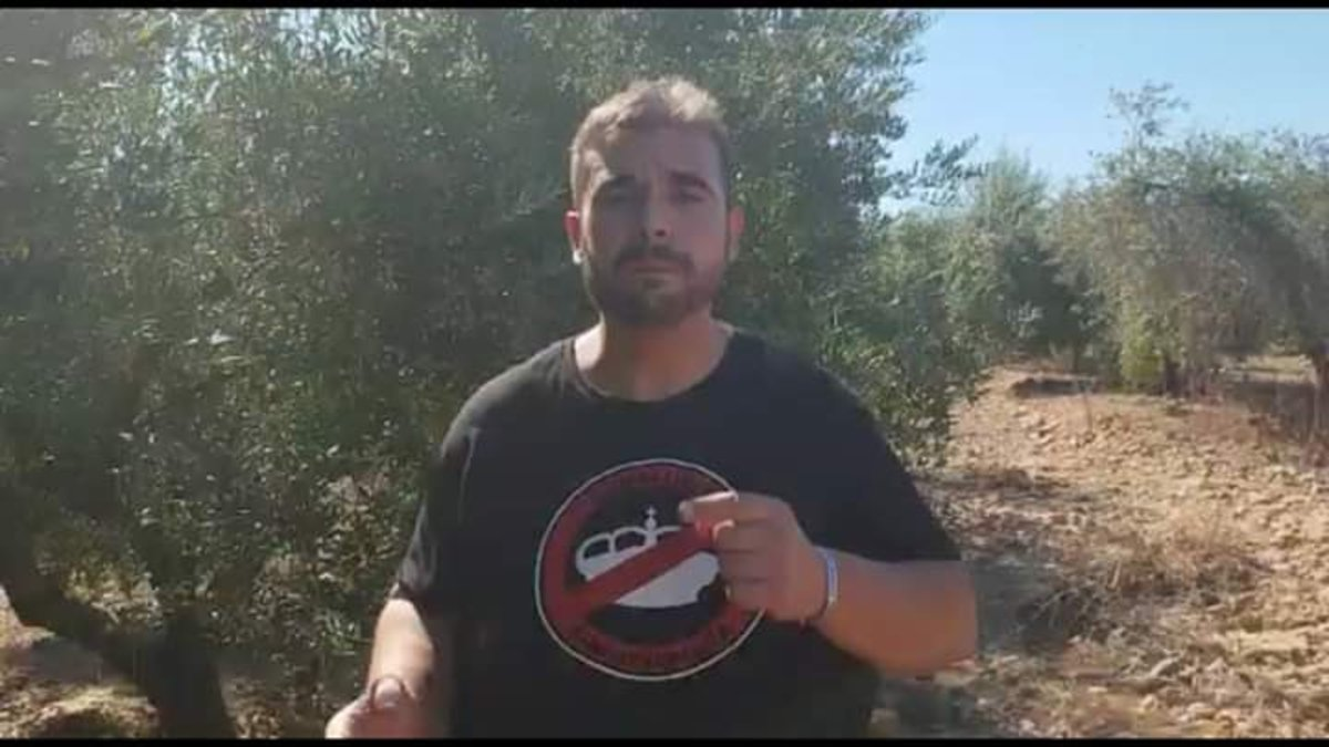 El sindicalista Oscar Reina.