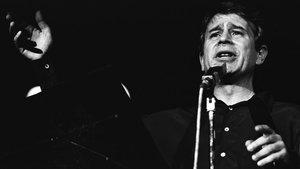 Ovidi Montllor, que falleció el 10 de marzo de 1995, en una actuación.