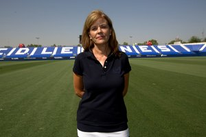 Victoria Pavón, presidenta del Leganés.