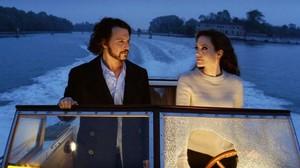 Johnny Depp y Angelina Jolie, en una escena de la película The tourist.