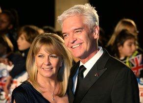 Phillip Schofield y su esposa, Stephanie Lowe.