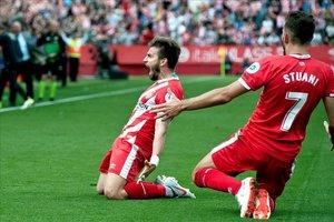 Portu hace soñar al Girona con la salvación