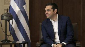 El primer ministro griego, Alexis Tsipras, la semana pasada durante una visita oficial a Jordania.